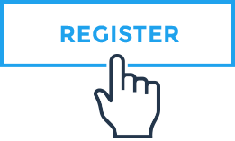 Blue Transparent Register Icon